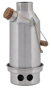 photo: Kelly Kettle Stainless Trekker Small Kelly Kettle wood stove