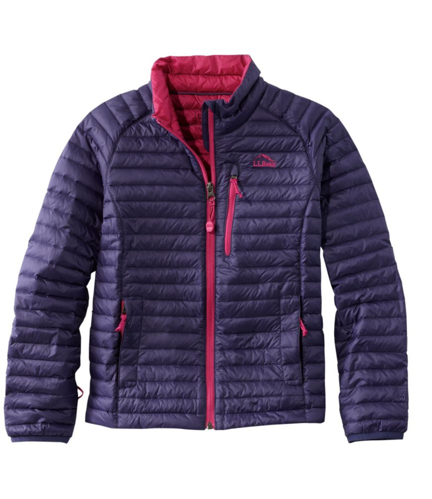 photo: L.L.Bean Girls' Ultralight 650 Down Sweater down insulated jacket
