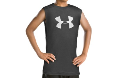 photo: Under Armour Tech Big Logo Sleeveless T Shirt short sleeve performance top