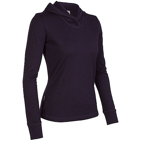 photo: Icebreaker Zephyr Hood long sleeve performance top