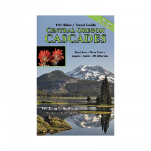 photo: Navillus Press 100 Hikes/Travel Guide Central Oregon Cascades us pacific states guidebook