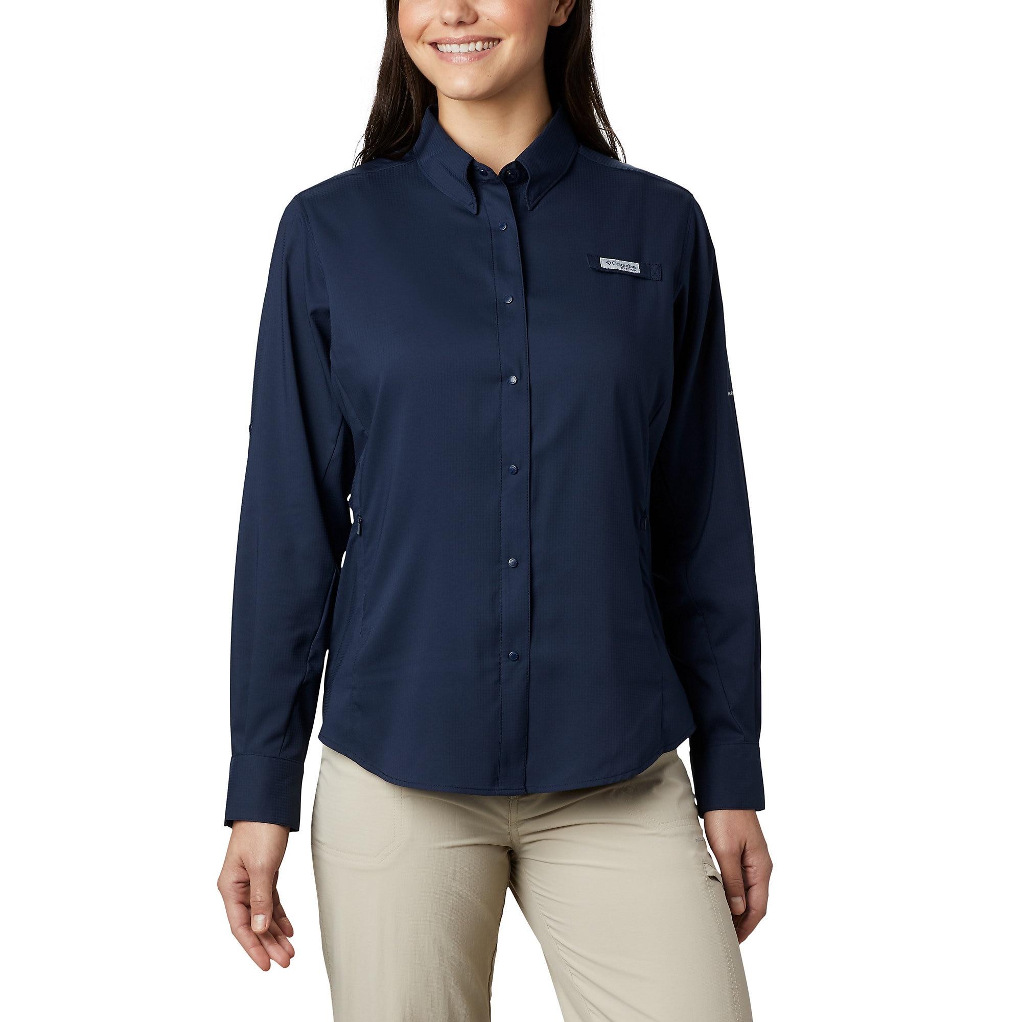 photo: Columbia Women's Tamiami II Long Sleeve Shirt hiking shirt