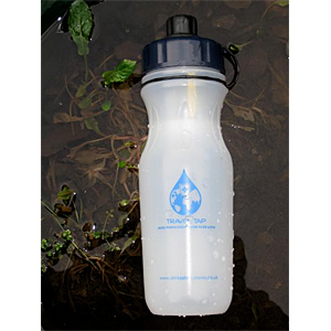 photo of a Drink Safe Systems bottle/inline water filter