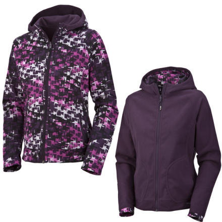 photo: Columbia Tokyo Reversible Softshell soft shell jacket