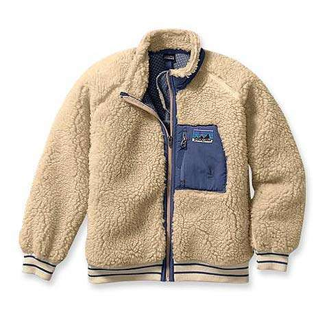 photo: Patagonia Kids' Retro Cardigan fleece jacket