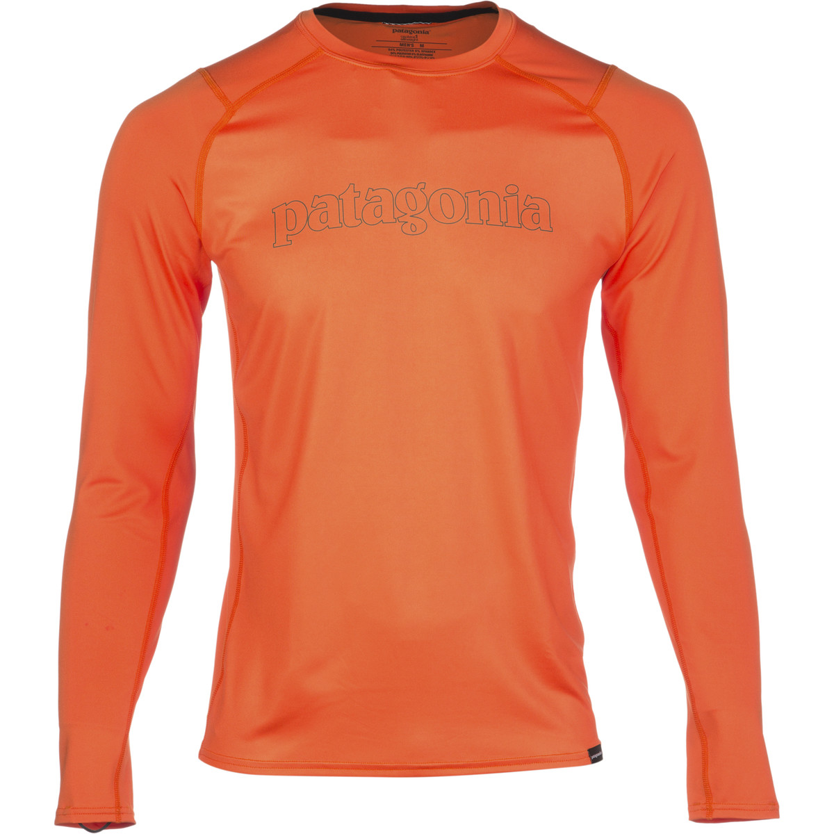 photo: Patagonia Capilene 1 Silkweight Graphic Crew base layer top