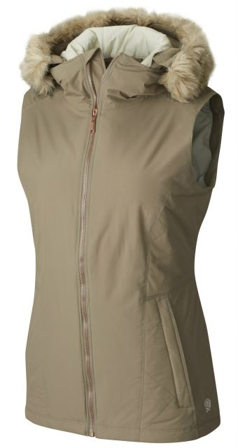 photo: Mountain Hardwear Potrero Insulated Vest synthetic insulated vest