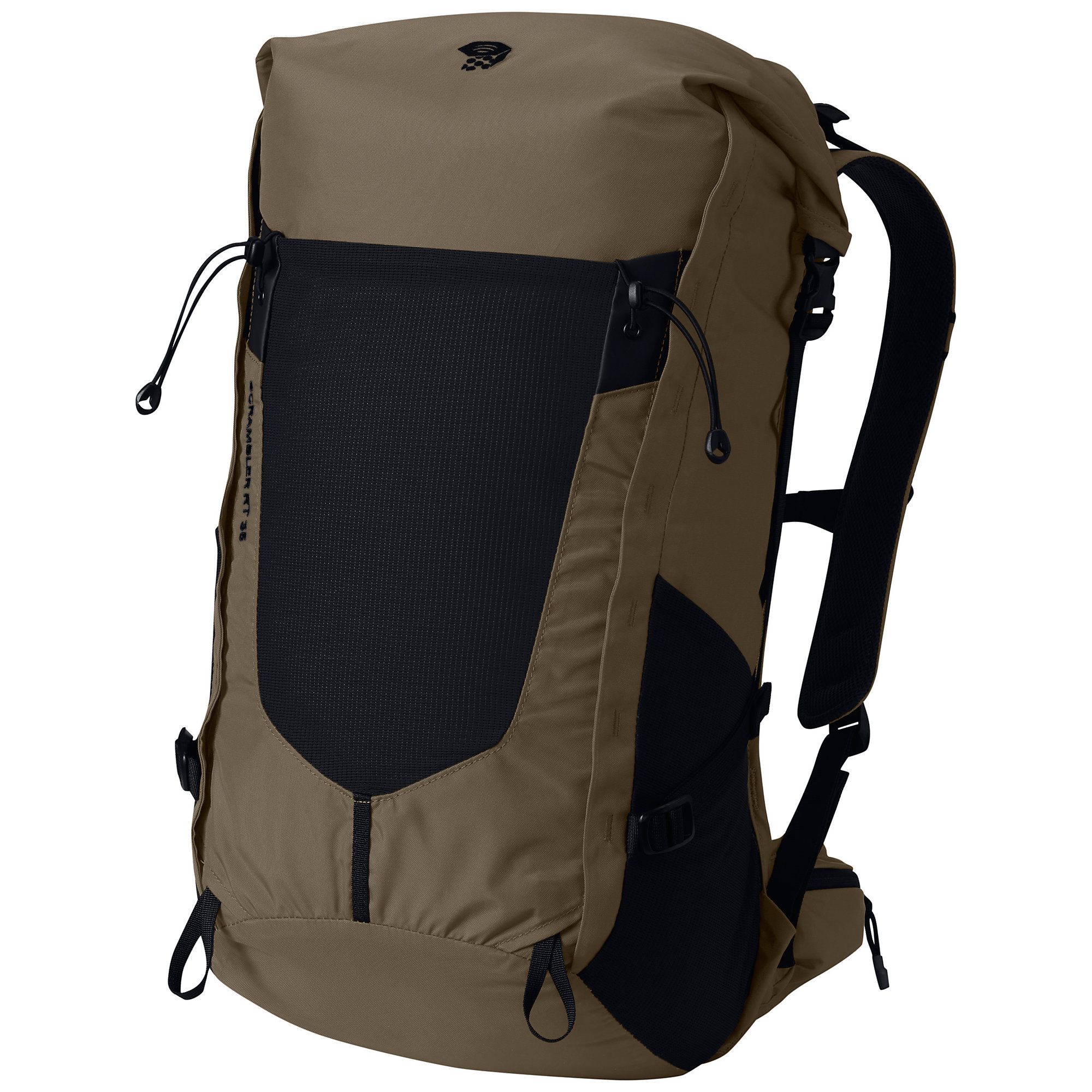 photo: Mountain Hardwear Scrambler Roll Top 35 OutDry overnight pack (35-49l)