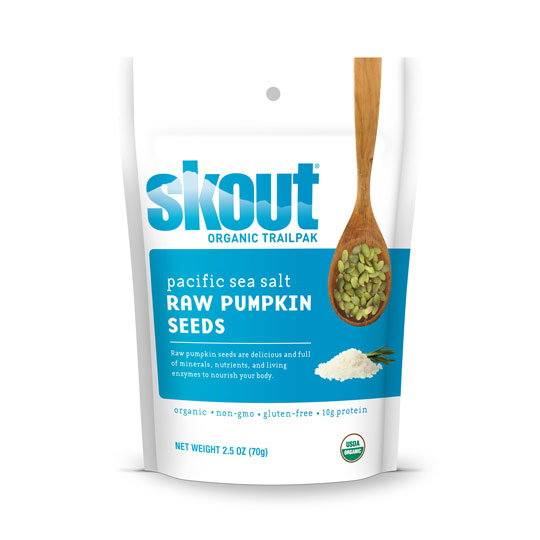 Skout Raw Pumpkin Seeds - Pacific Sea Salt