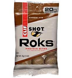 photo: Clif Chocolate Shot Roks gel/chew