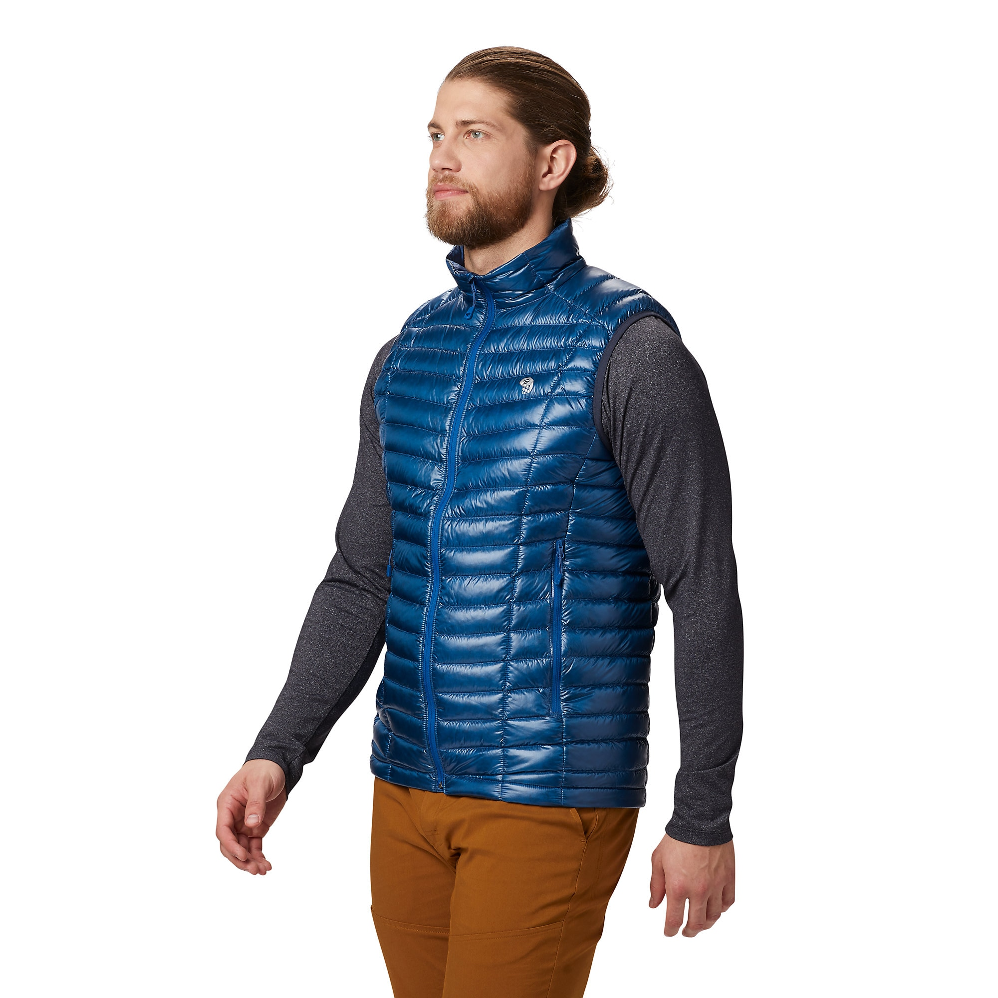 photo: Mountain Hardwear Ghost Whisperer Down Vest down insulated vest