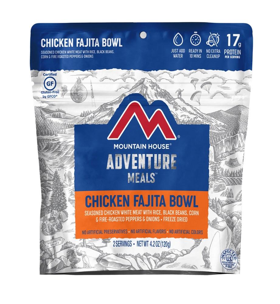 photo: Mountain House Chicken Fajita Bowl meat entrée