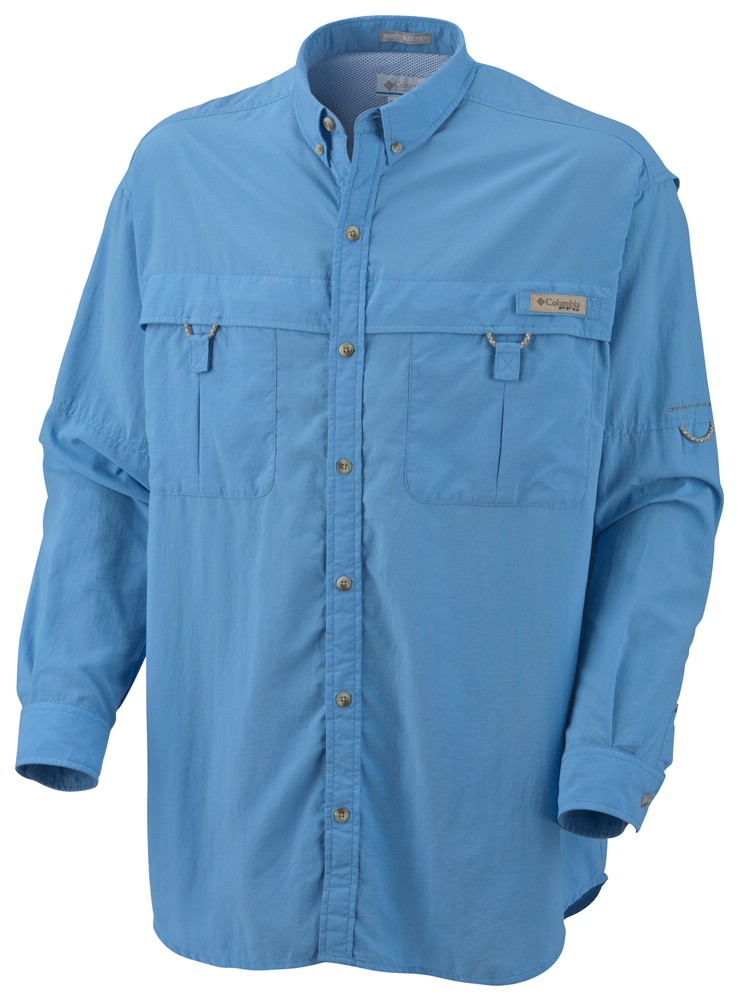 photo: Columbia Backcountry Long Sleeve Shirt hiking shirt