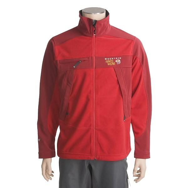 photo: Mountain Hardwear Windstopper Tech Jacket fleece jacket