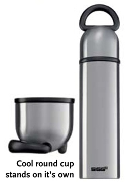 photo: SIGG Steelworks Thermal .75 Liter Ring Bottle thermos