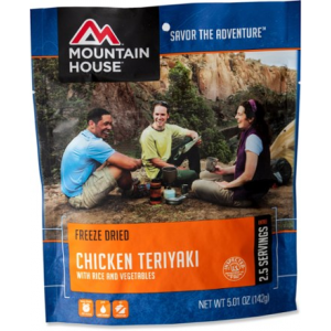 photo: Mountain House Chicken Teriyaki with Rice meat entrée