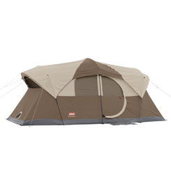 photo: Coleman Weathermaster 10 warm weather tent
