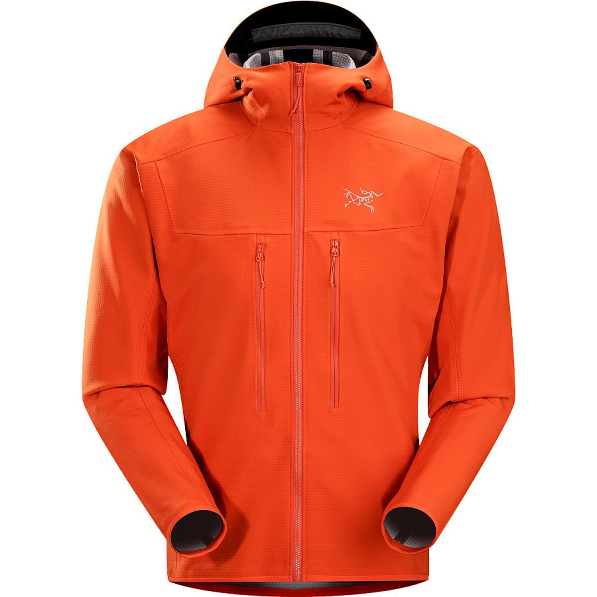 photo: Arc'teryx Acto MX Hoody fleece jacket