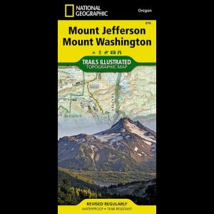 National Geographic Mount Jefferson / Mount Washington Trail Map