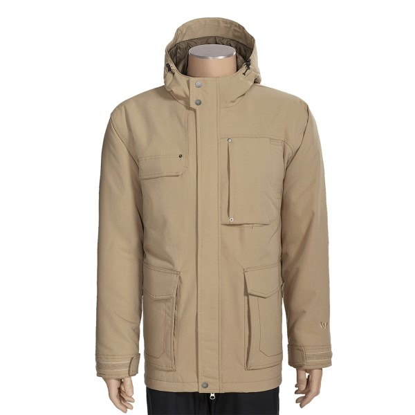 photo: White Sierra Lift Line Parka snowsport jacket