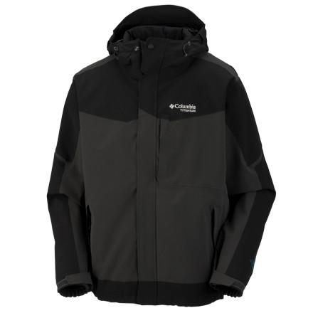 photo: Columbia Assimilate Jacket soft shell jacket