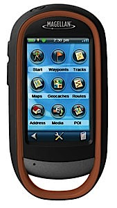 photo: Magellan eXplorist-710 handheld gps receiver