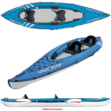 photo: BIC Sport Yakkair Lite 2 Tandem inflatable kayak