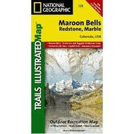 National Geographic Maroon Bells/Redstone/Marble Map