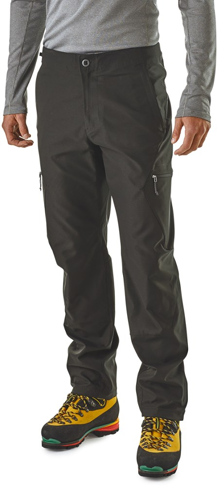 photo: Patagonia Simul Alpine Pants soft shell pant