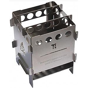 Bushcraft Essentials Bushbox Titanium Outdoor Pocket Stove