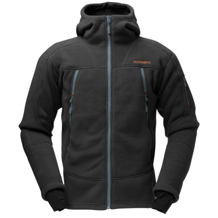 photo: Norrona Men's Narvik Warm3 Zip Hood fleece jacket
