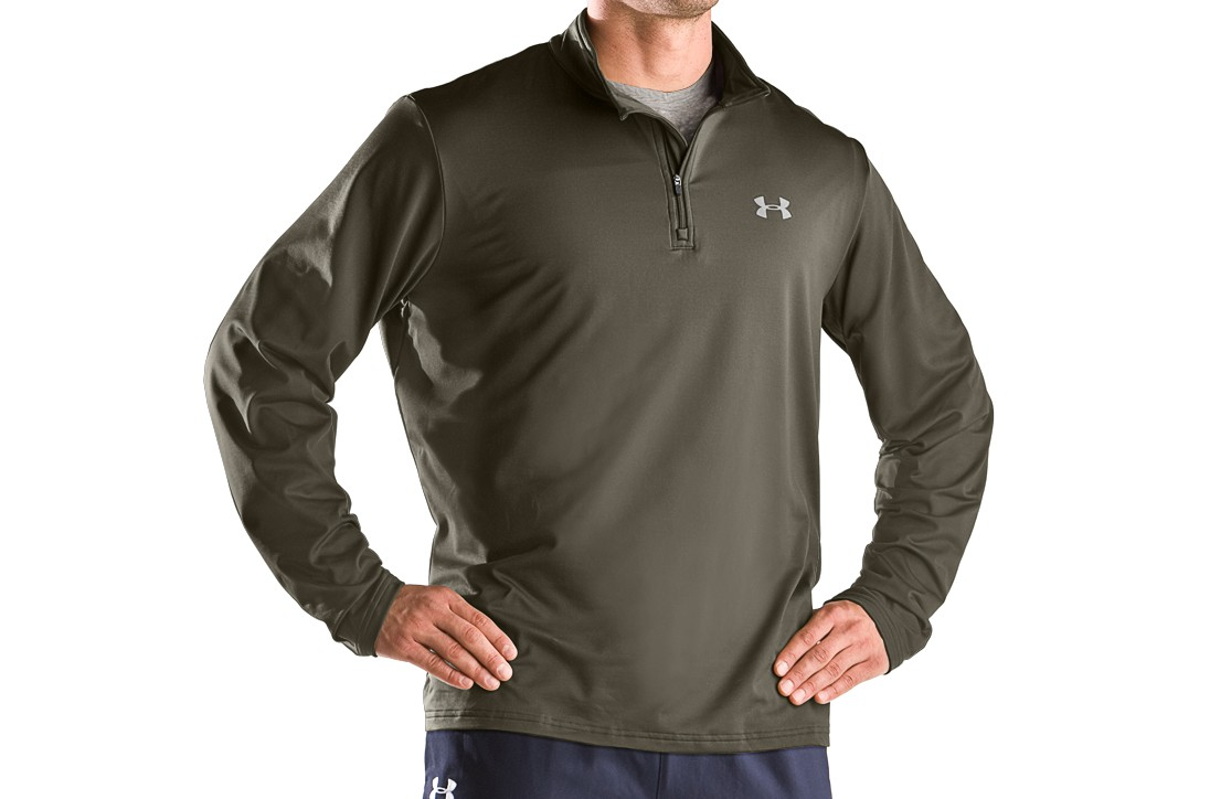 photo: Under Armour EVO ColdGear 1/4 Zip long sleeve performance top