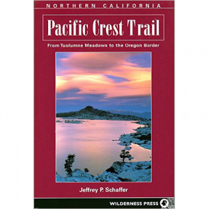photo: Wilderness Press Pacific Crest Trail Northern California us pacific states guidebook