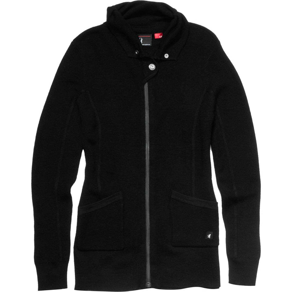 photo: Spyder Float Sweater wool jacket