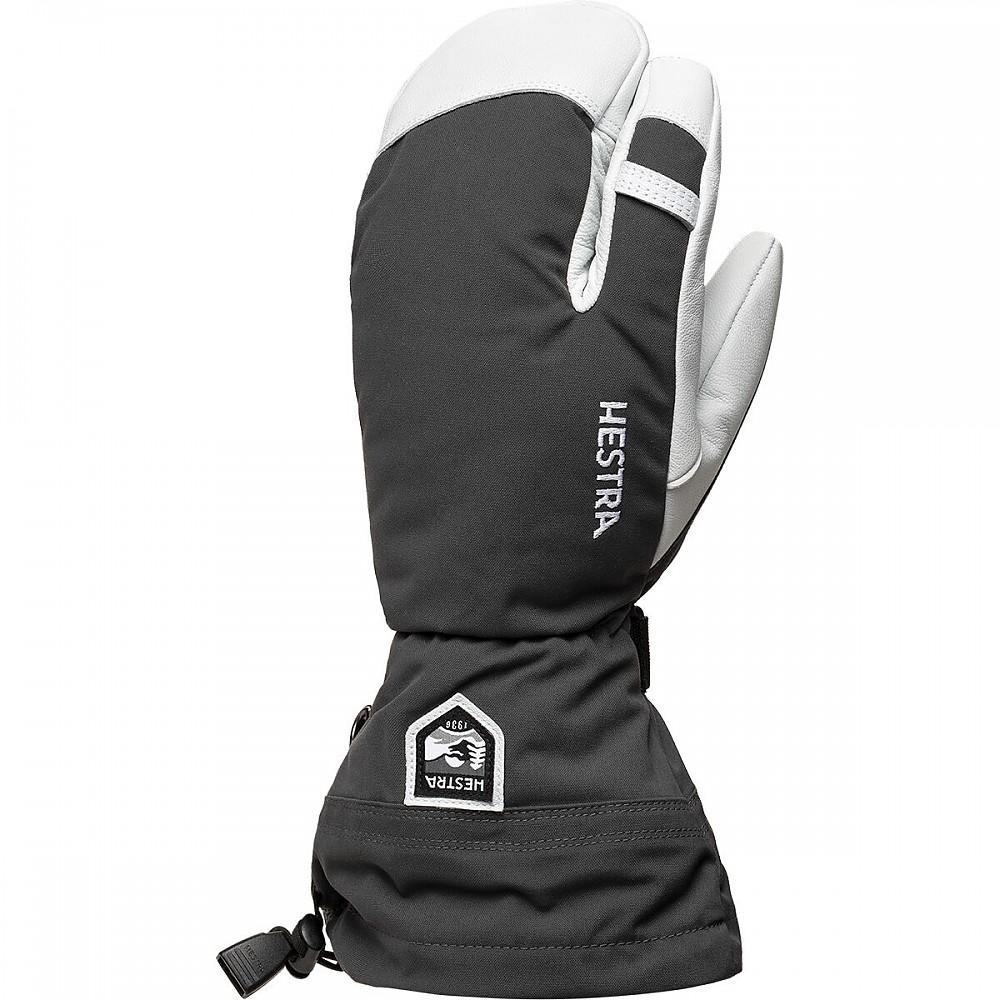 photo: Hestra Heli 3-Finger Glove insulated glove/mitten