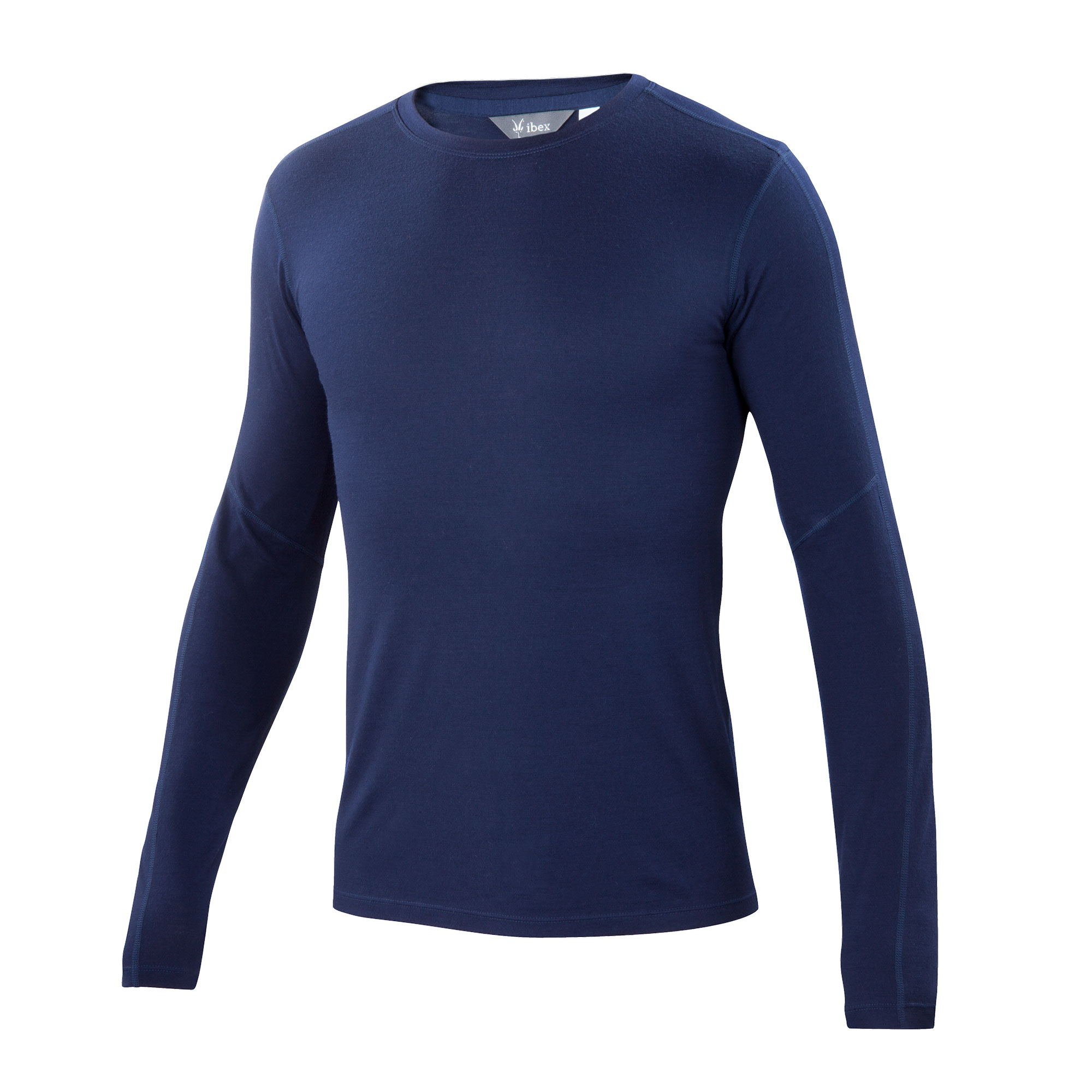 photo: Ibex Men's Indie Crew long sleeve performance top
