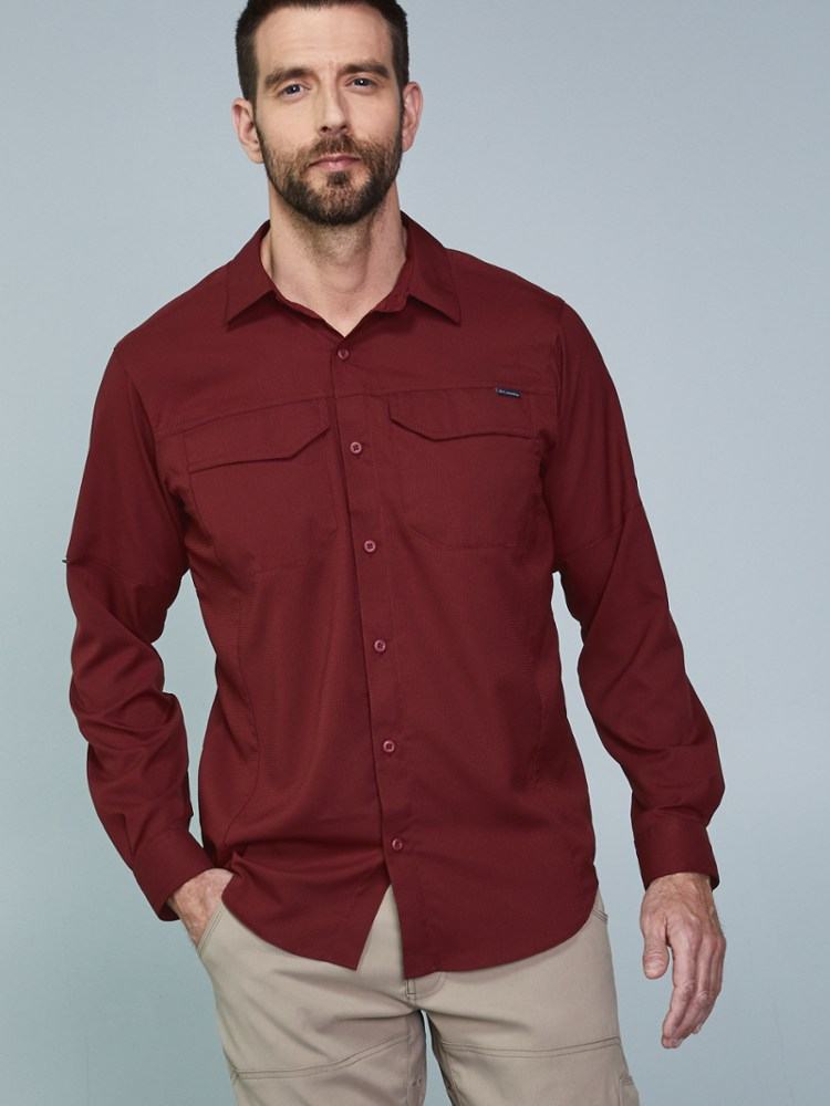 photo: Columbia Silver Ridge Lite Long Sleeve Shirt hiking shirt