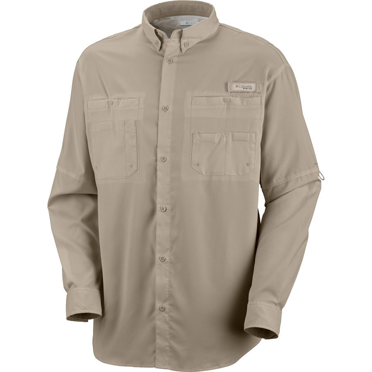 photo: Columbia Men's Tamiami II Long Sleeve Shirt hiking shirt