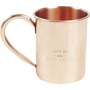United by Blue Look Up Copper Mug