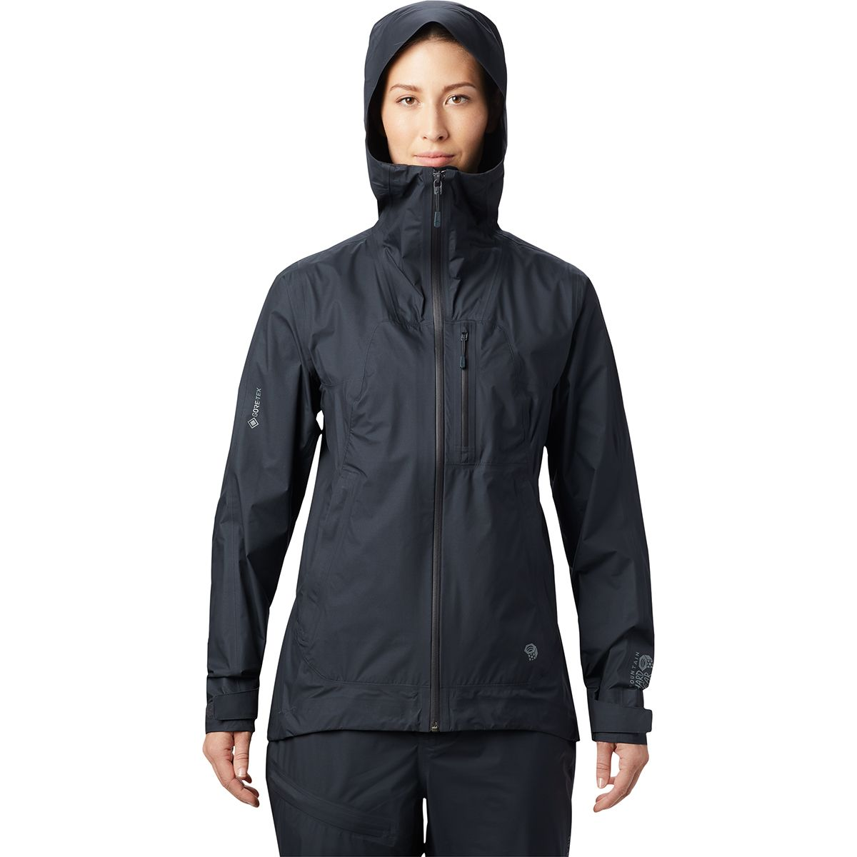 photo: Mountain Hardwear Women's Exposure/2 Gore-Tex Paclite Plus Jacket waterproof jacket