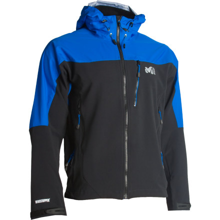 photo: Millet W3 WDS Composite waterproof jacket