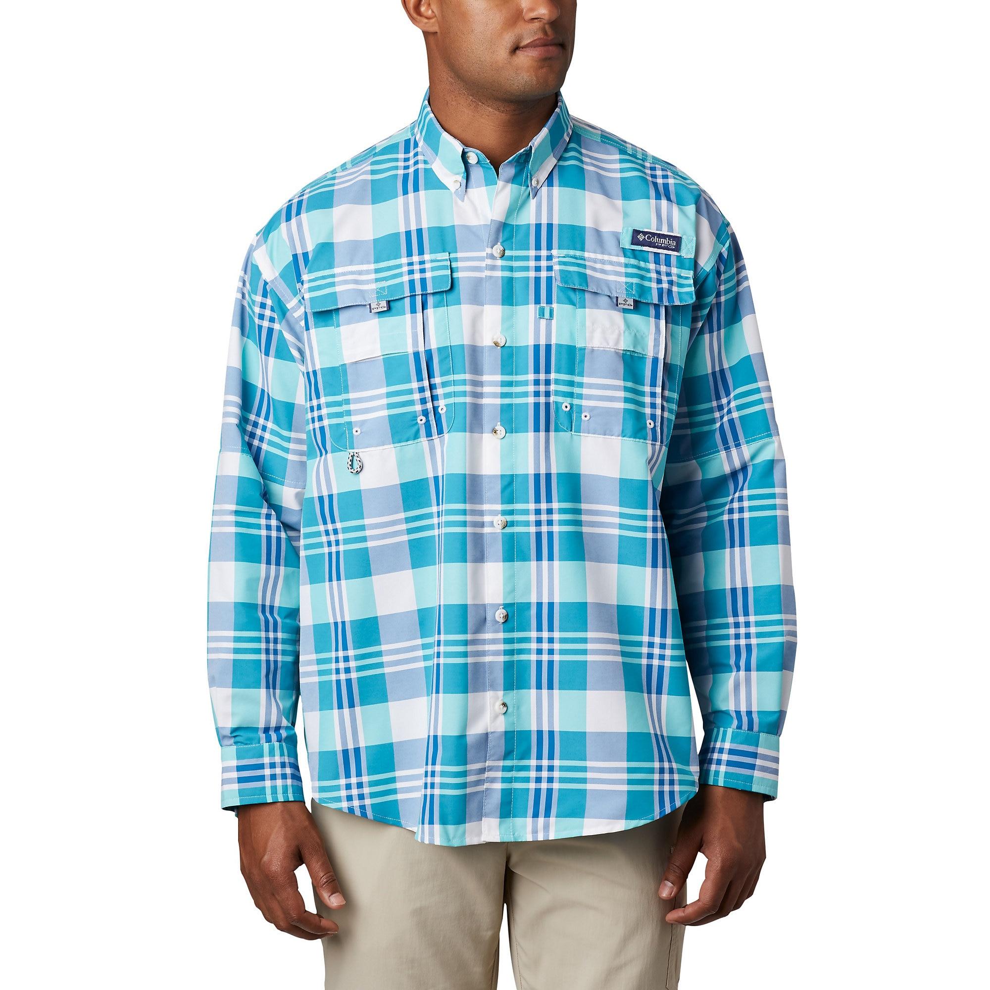 photo: Columbia Super Bahama Long Sleeve Shirt hiking shirt