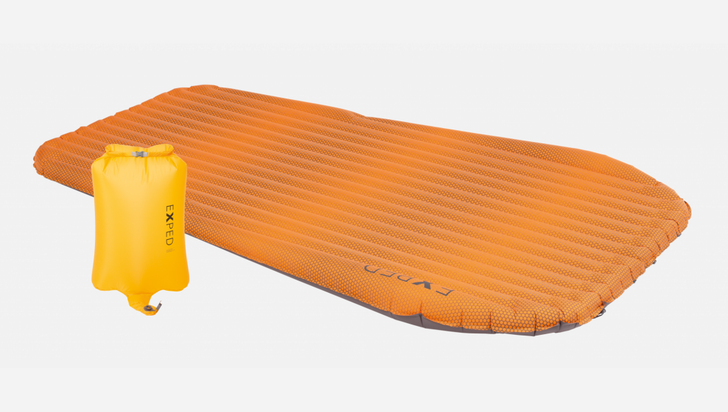 photo: Exped SynMat Hyperlite Duo air-filled sleeping pad
