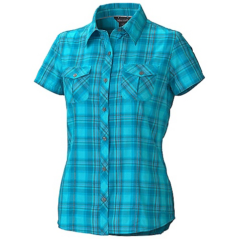 photo: Marmot Audrey Plaid SS Top hiking shirt