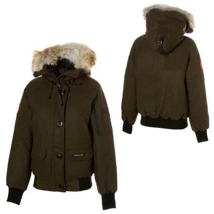 Canada Goose Chilliwack Parka Wool Melton