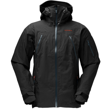 photo: Norrona Men's Narvik Gore-Tex Comfort Shell 3L Jacket snowsport jacket
