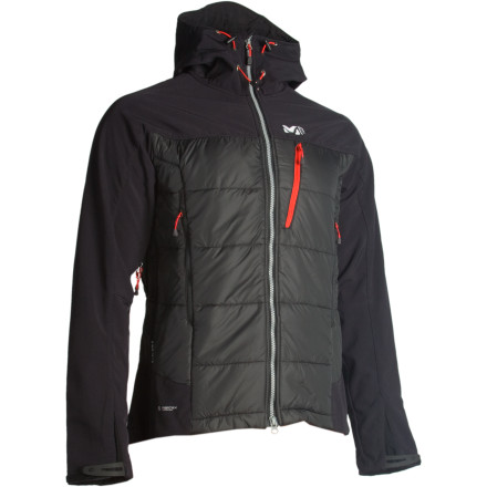 photo: Millet Men's Belay Composite Jacket synthetic insulated jacket