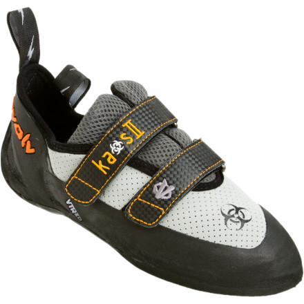 photo: evolv Kaos II climbing shoe