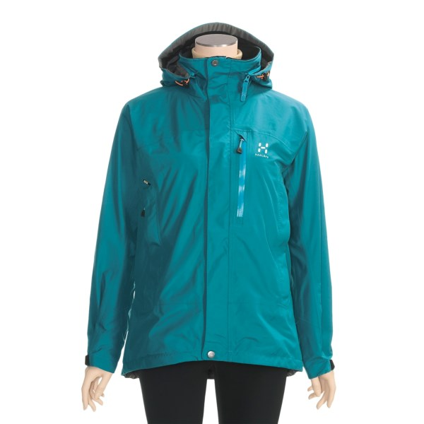 photo: Haglofs Topo Jacket waterproof jacket
