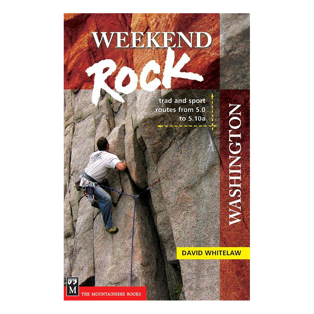 photo: The Mountaineers Books Weekend Rock - Washington us pacific states guidebook